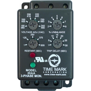 20AA-3-Phase-Monitor-with-Trip-and-Restart-Delays